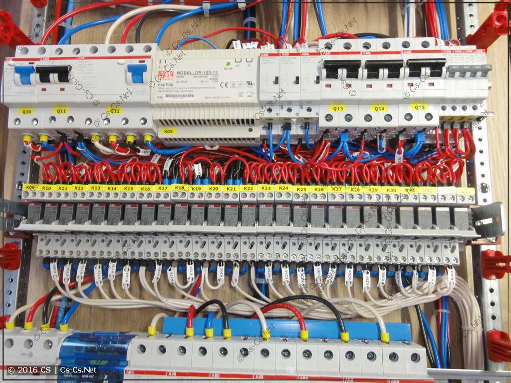 Реле ABB CR-P для развязки цепей управления освещением бани