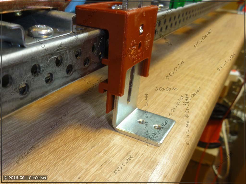 Регуляторы глубины ZW используются для того, чтобы приподнять раму
