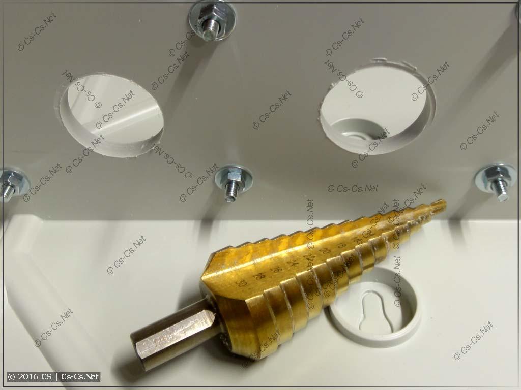 Супенчатое сверло для сверления отверстий между корпусами