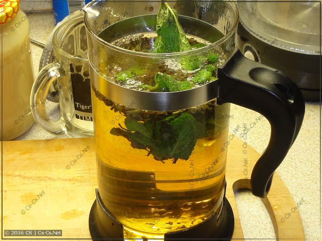 Завариваем подоснову чая