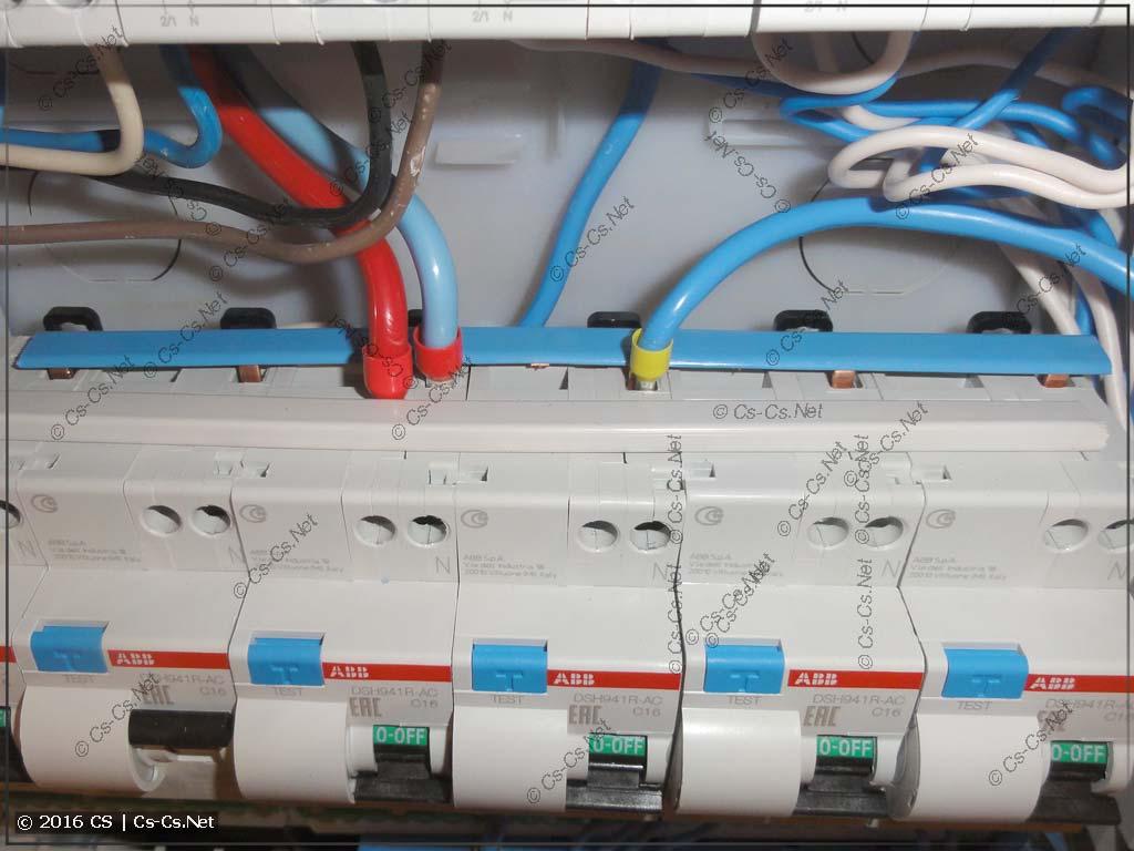 Дешёвые (и галимые) дифавтоматы DS941 и гребёнки BS9 для них