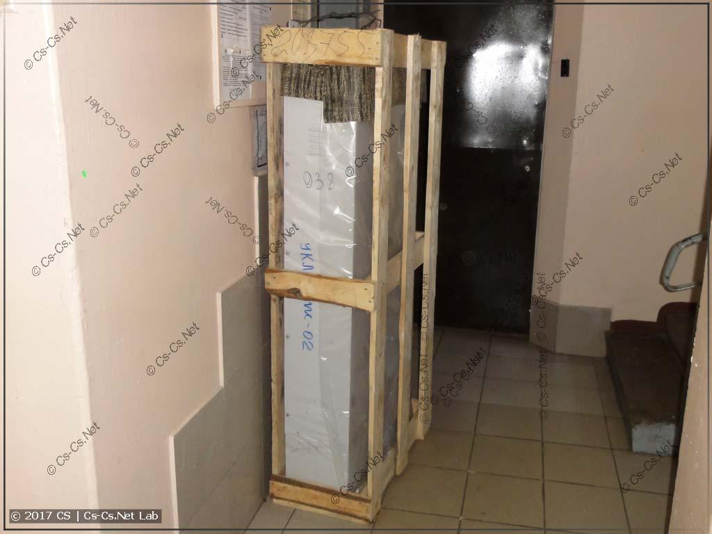 Новая станция управления лифтом