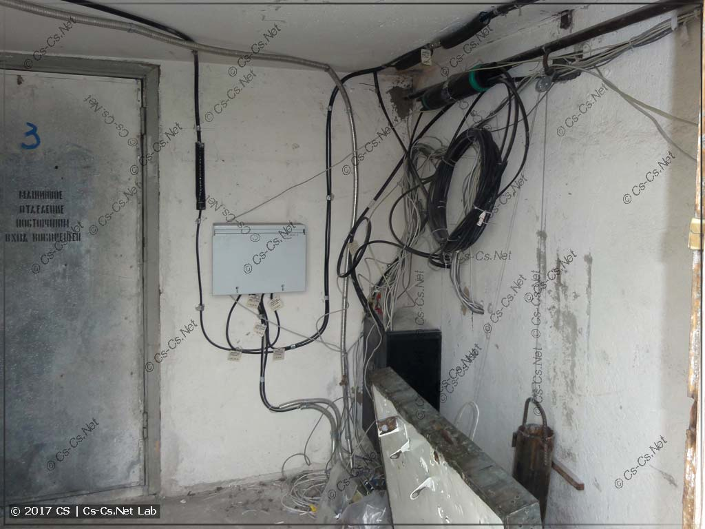 Линии диспетчерской связи (внутри помещения)
