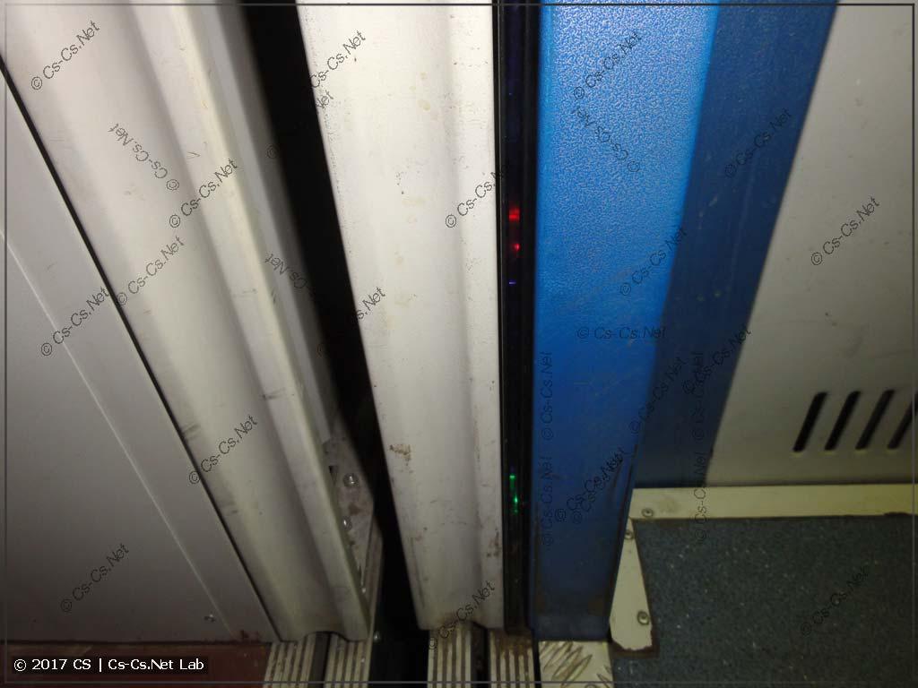 Датчик закрытия дверей кабины (оптический)