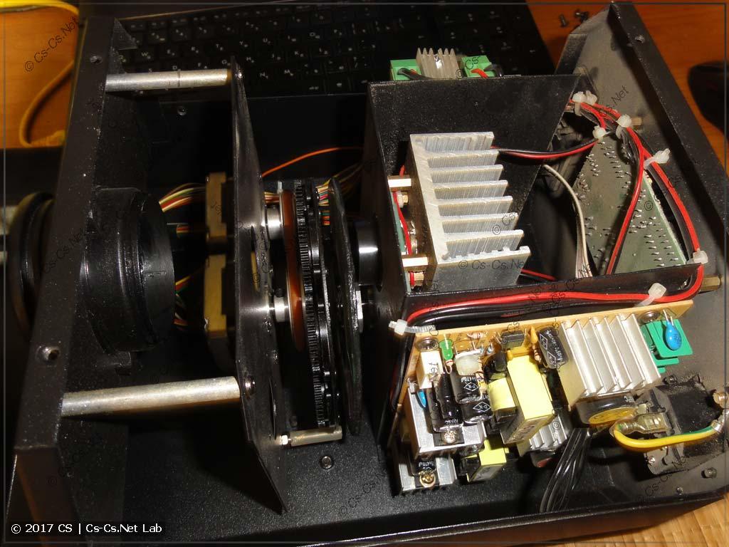 Внутреннее устройство сканера LED Scan 30 RG