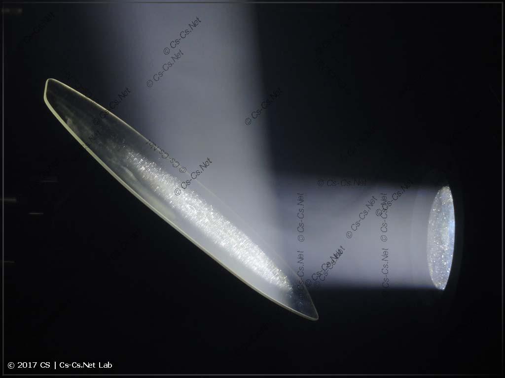 Отражение луча зеркалом в сканере (на примере сканера ROBE)
