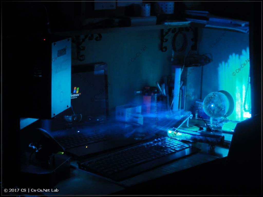 Отмытый сканер LED Scan 30 RG светит!