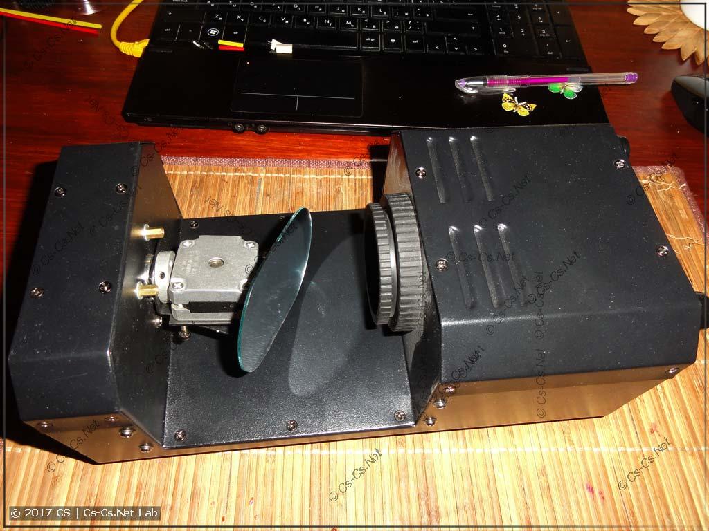 Сканер ShowLight SSD90 (опытная модель)