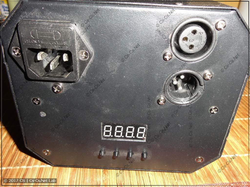 Сканер ShowLight SSD90 (опытная модель, вид сзади)