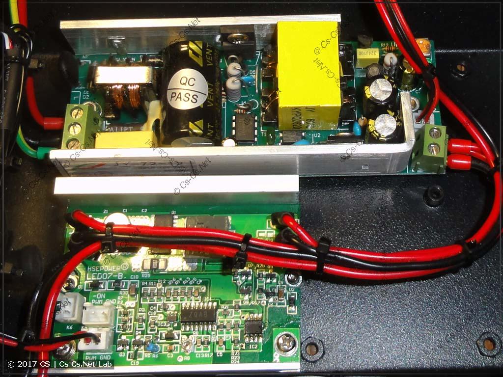 Сканер ShowLight SSD90 (блок питания и драйвер светодиода)