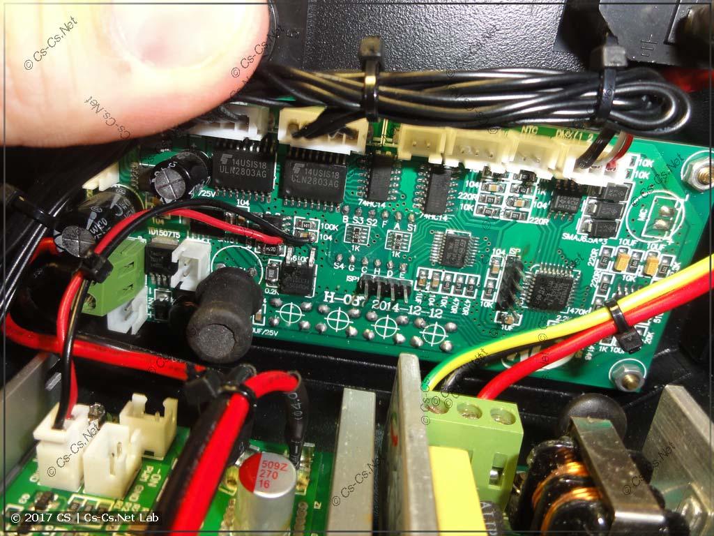 Плата управления сканера на SSD90 (уже на STM32)