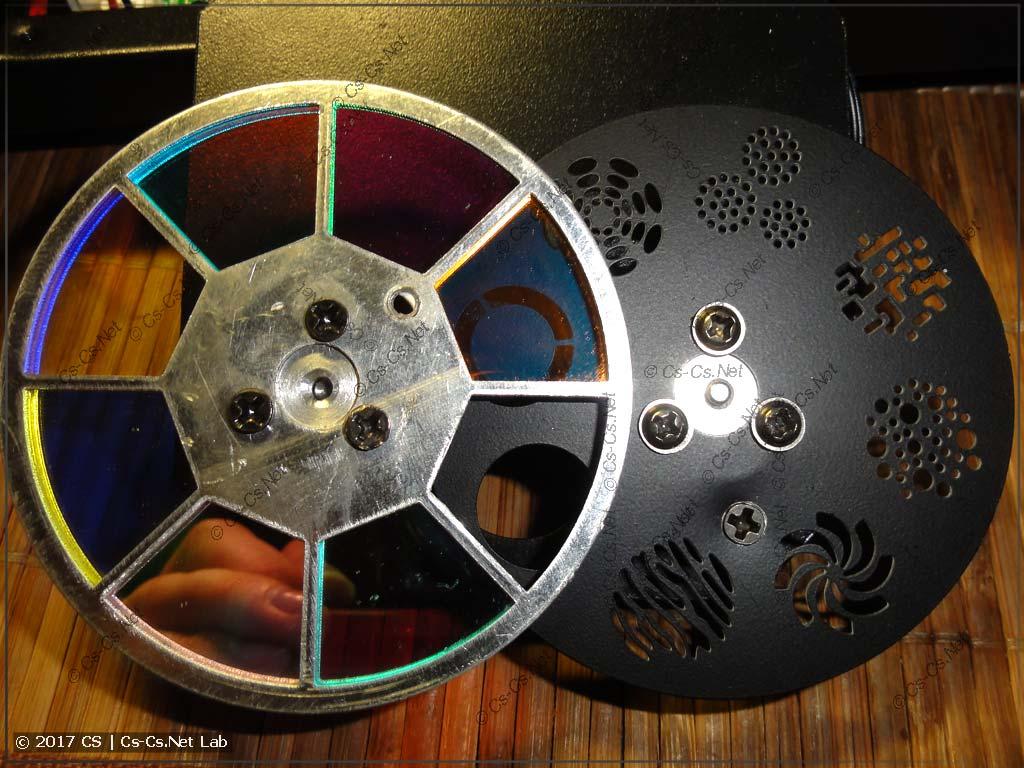 Диски цветов и статических гобо сканера