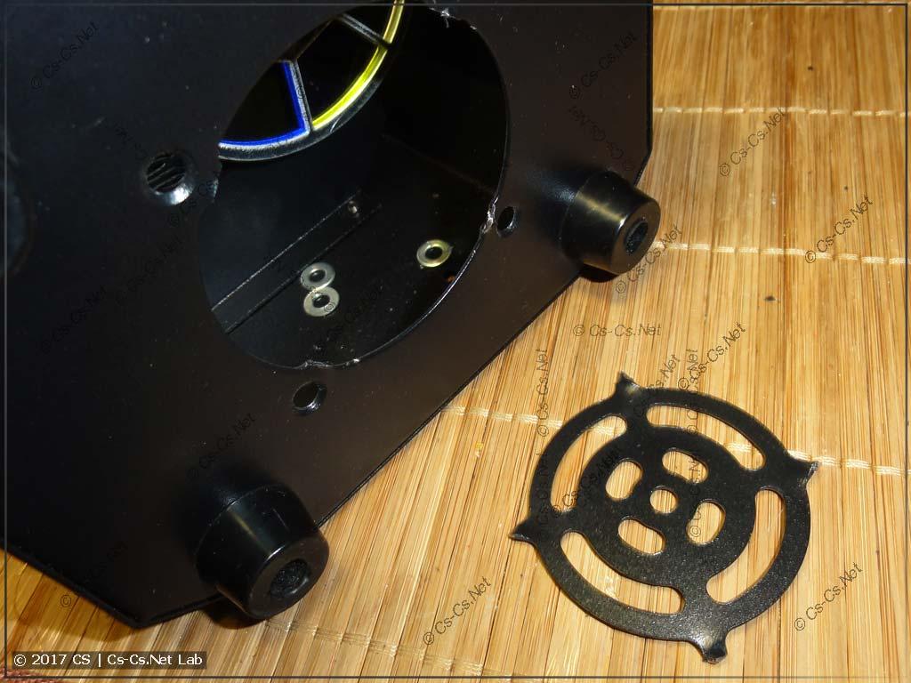 Патчим сканер: вырезаем решётку вентилятора, которая мешала воздушному потоку