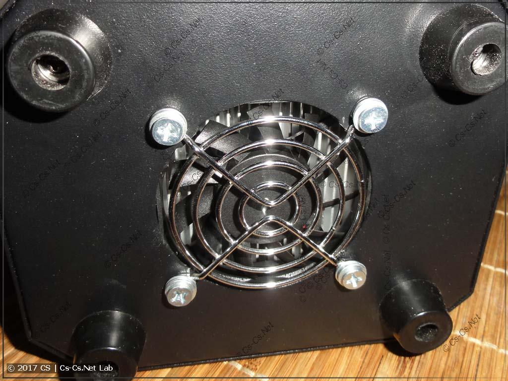 Ставим новый вентилятор с более просторной решёткой