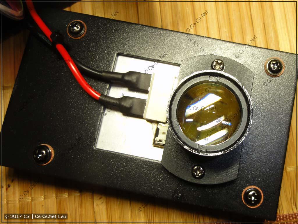 Светодиод SSD90 и его оптика