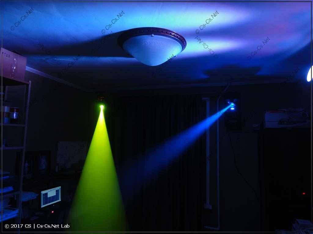 Сценический свет на протоколе DMX-512 дома!