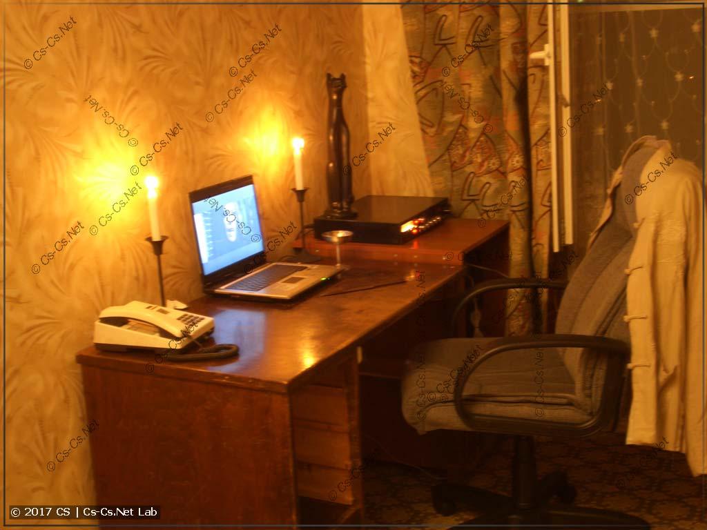 Идеальная комната после уборки - ничего лишнего