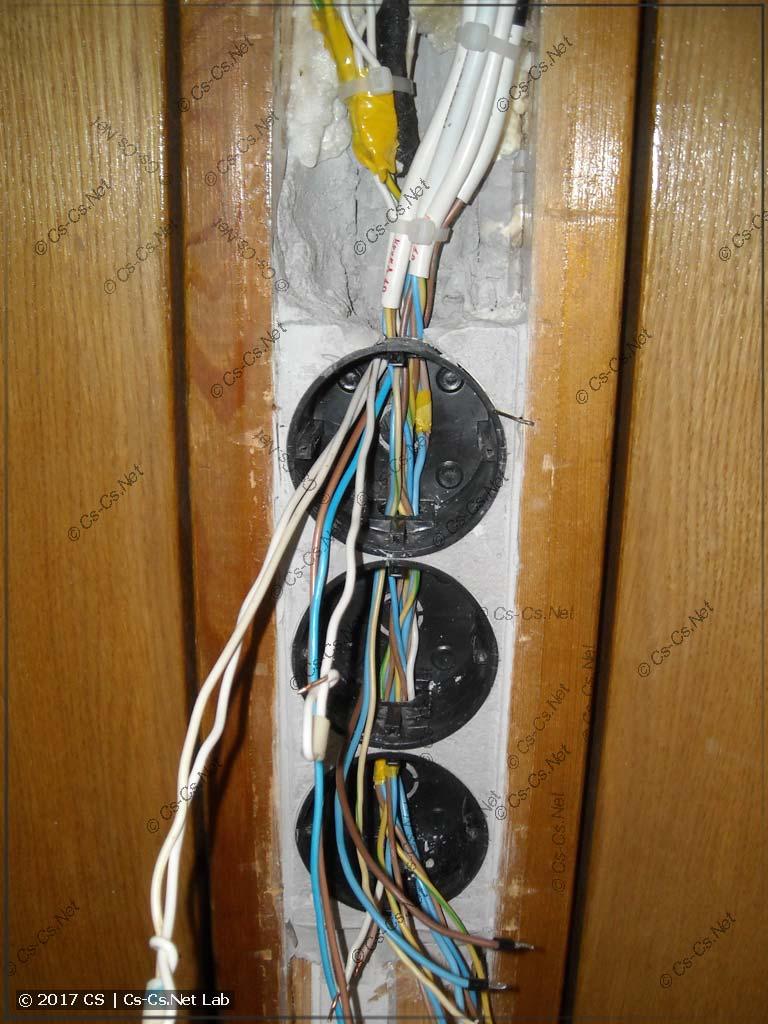 Переделываем провода-подводку к блоку ВТК