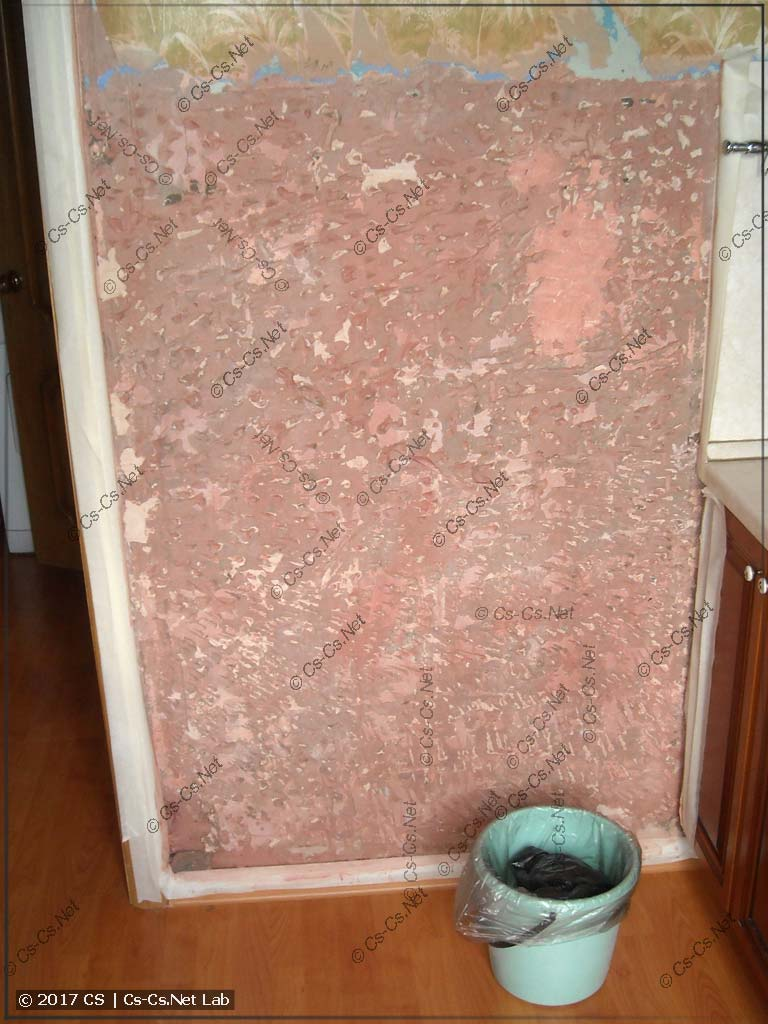 Обрабатываем стену бетоноконтактом