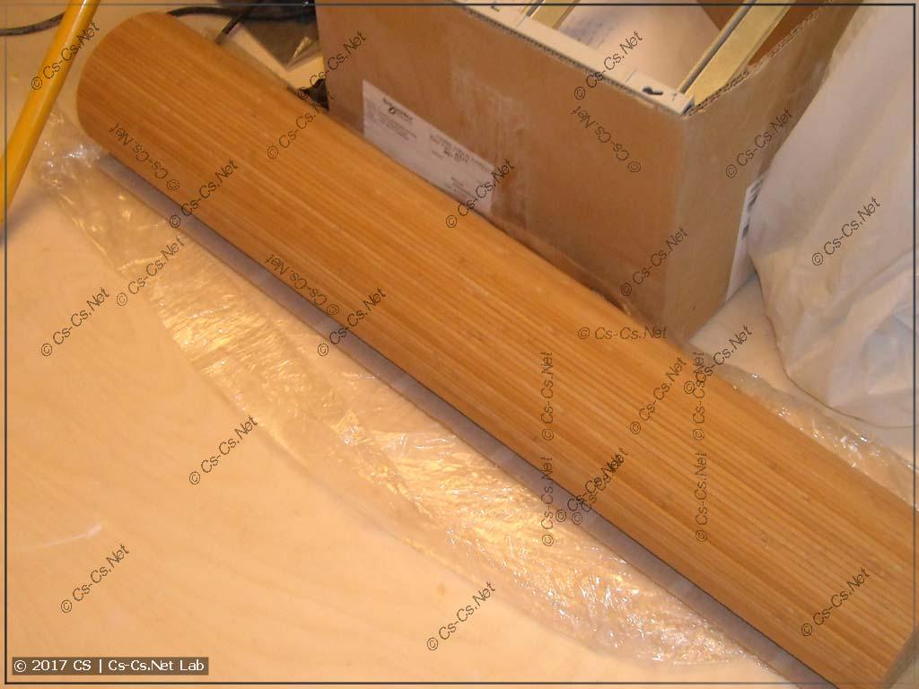 Бамбуковое полотно в рулоне