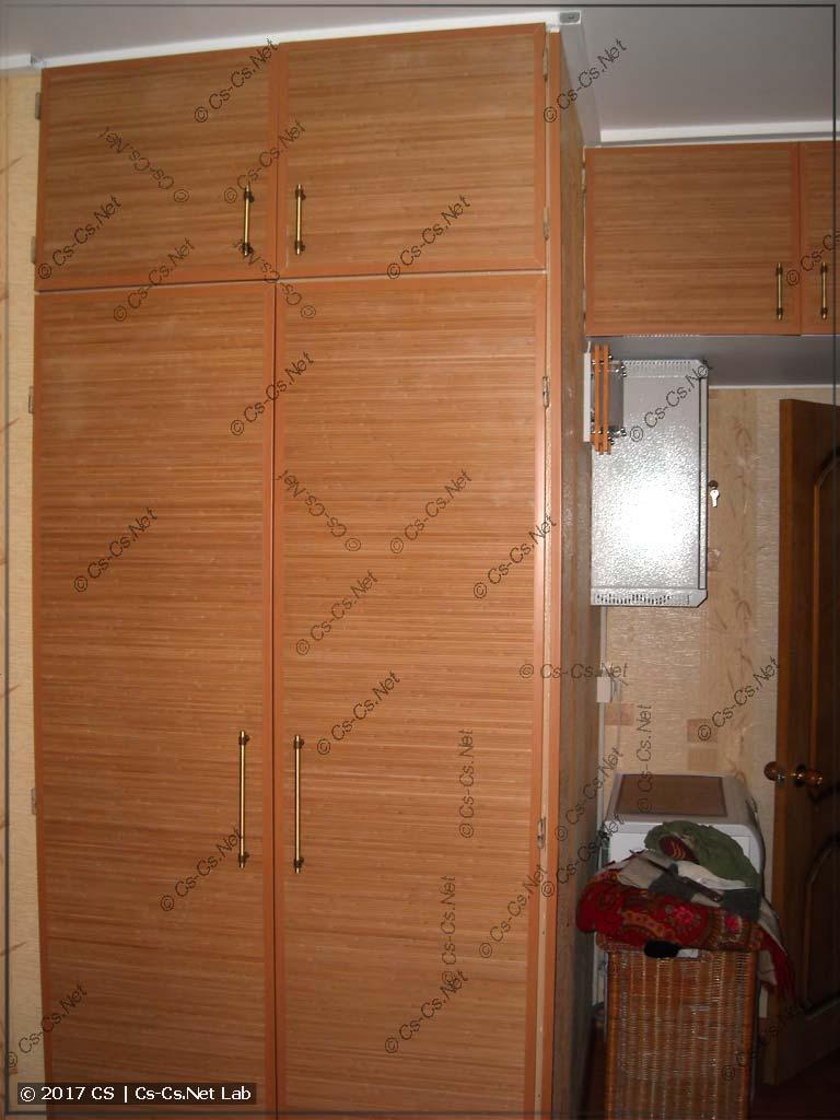 Двери стенного шкафа прошли апгрейд