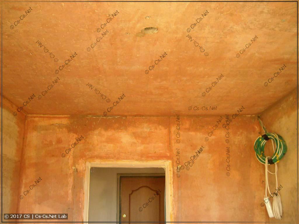 Проходимся по всей комнате бетоноконтактом