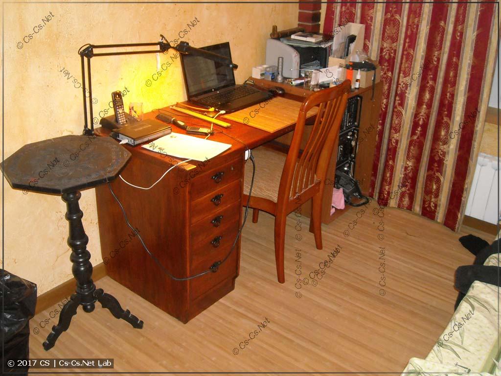 Ура! Ремонт закончен и моя комната готова и даже обжита!
