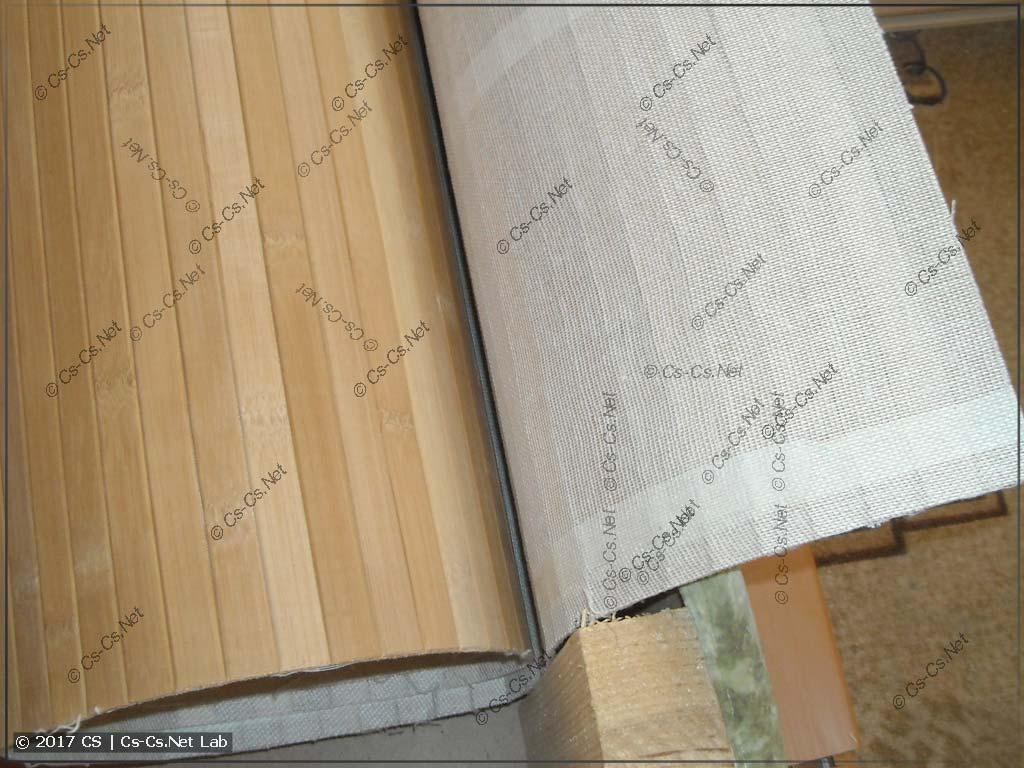 Бамбуковое полотно для отделки пола