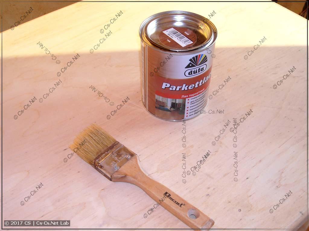 Лак Dufa для перекраски стола