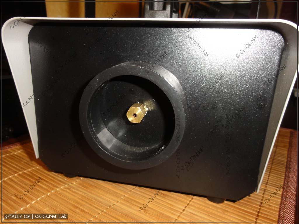 Передняя панель дымовой установки FM900 до переделки