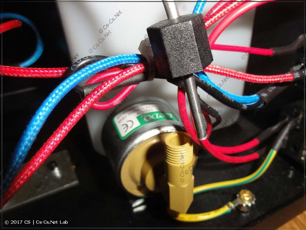 Подключение помпы к нагревателю дымовой установки