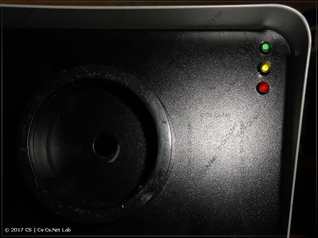 Патчим дымовую установку на DMX: врезали новые элементы управления спереди