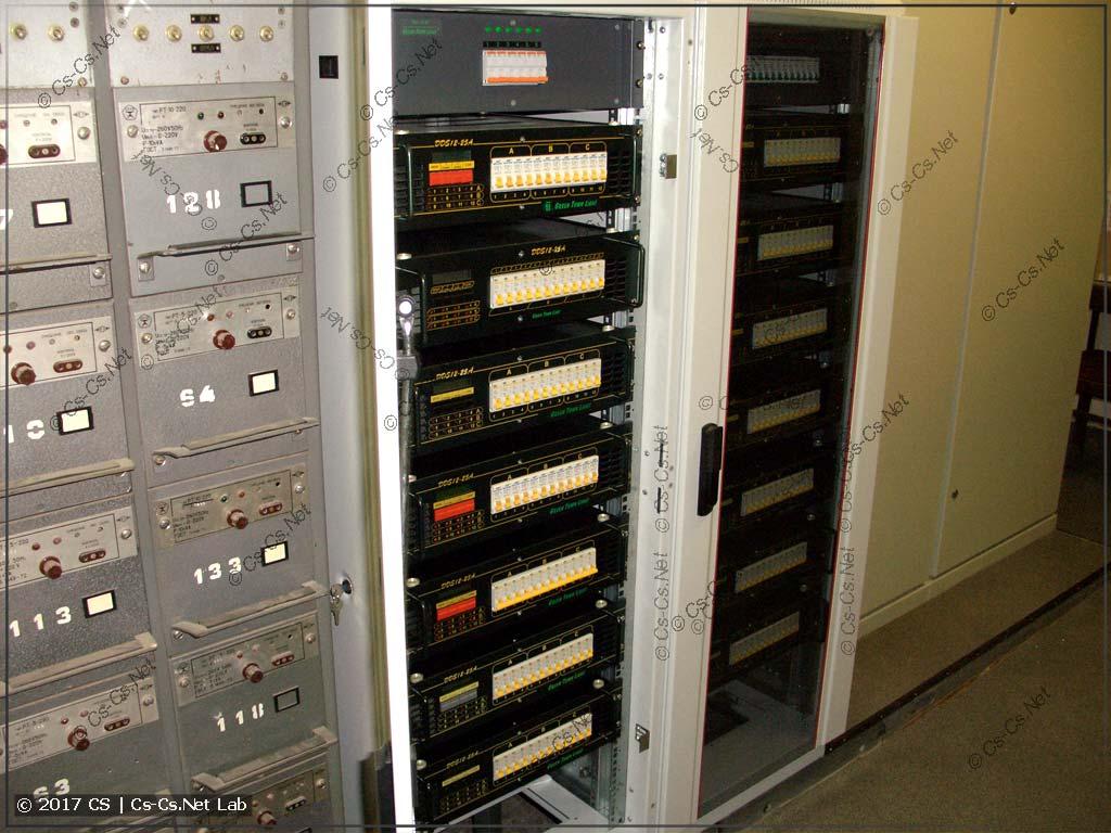 Новые диммерные шкафы на замену старым
