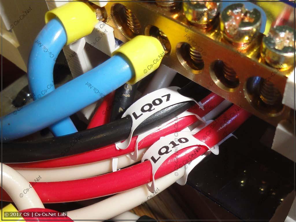 Новый шрифт маркировки проводов на кросс-модулях
