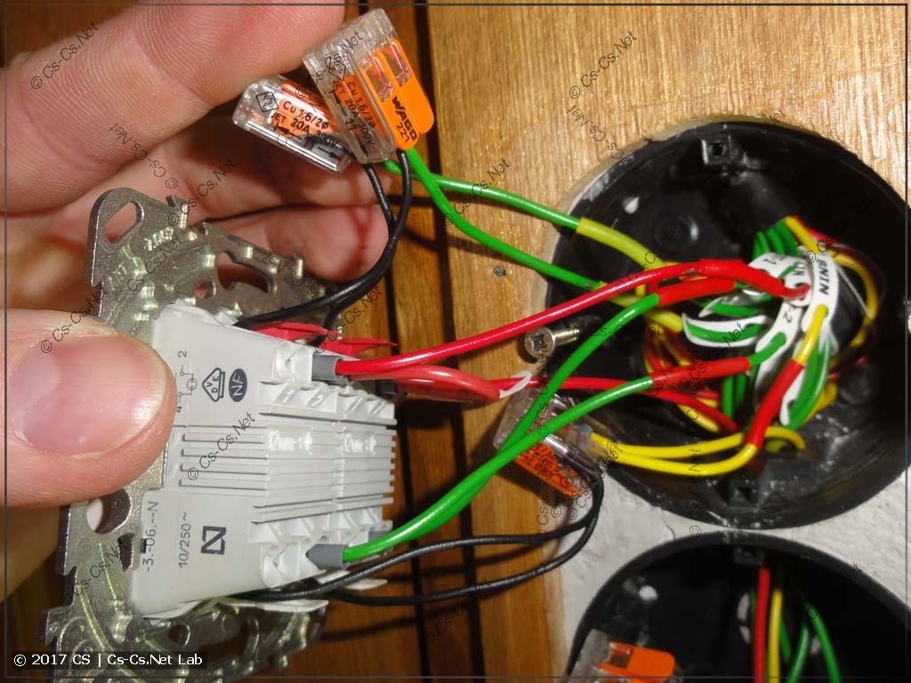 Подключение кнопок блока ВТК для управления с ПЛК (выводим подсветку отдельно)