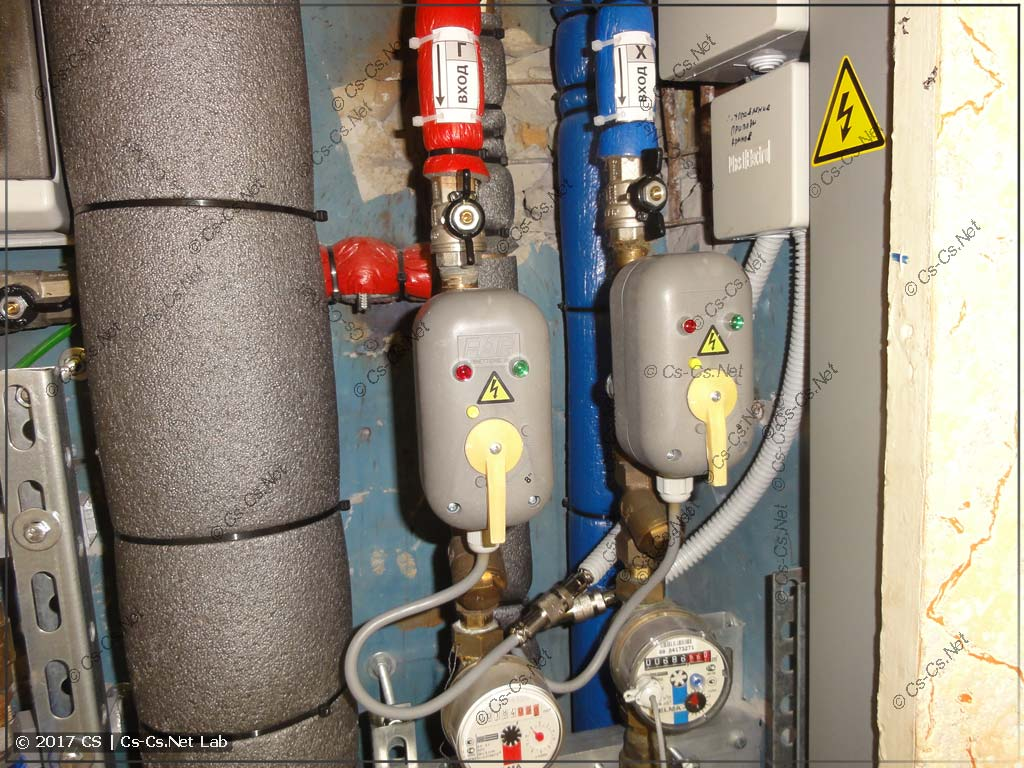 Автоматика закрытия воды в квартире: краны FAR с электроприводом
