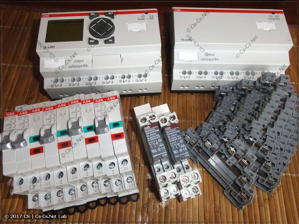 Новые компоненты системы автоматики: логические реле ABB CL