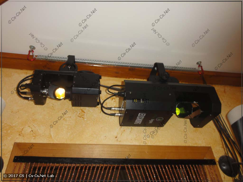 Светодиодные сканеры от компании ShowLight дома