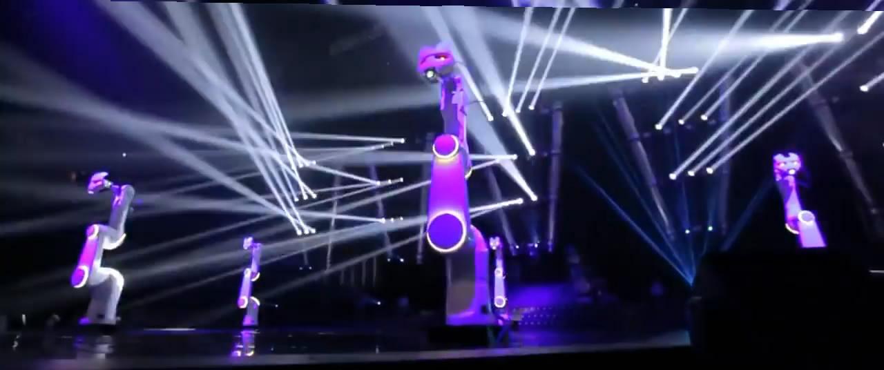 Пример света на концерте