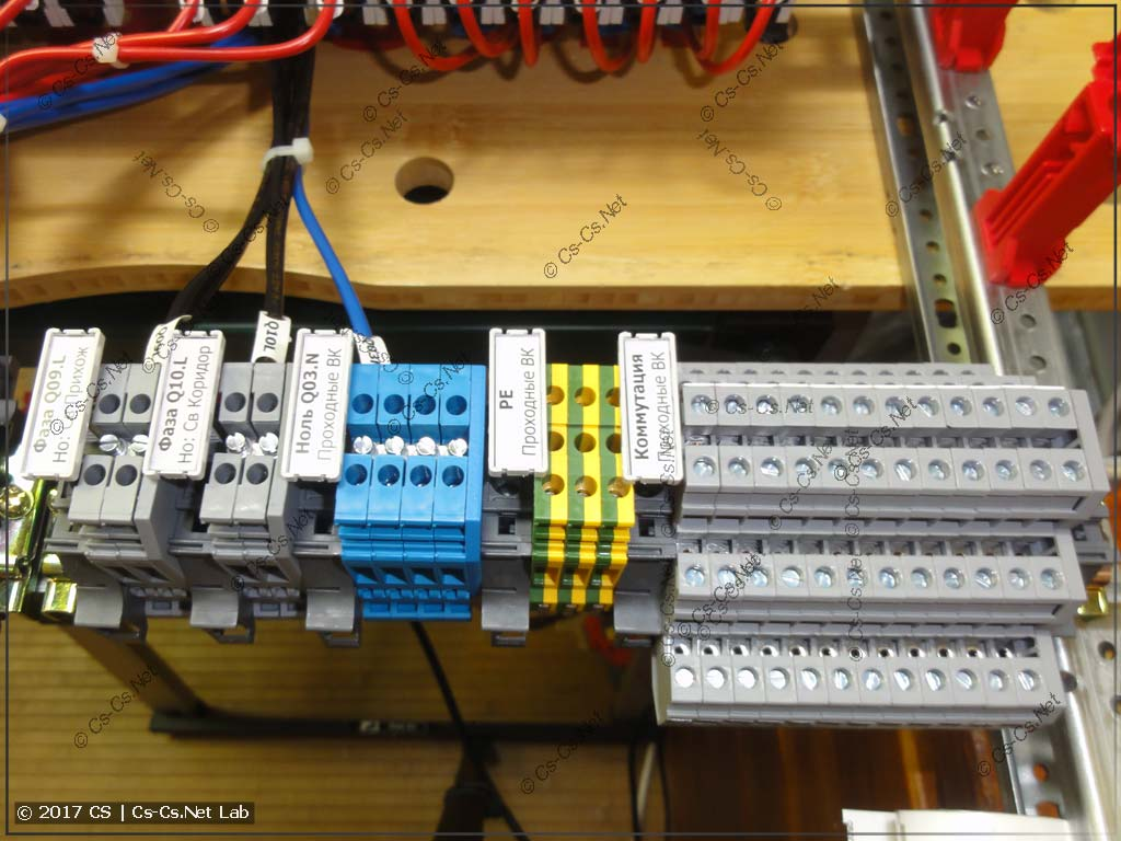 Клеммы для мастера, который будет монтировать проходные выключатели по месту