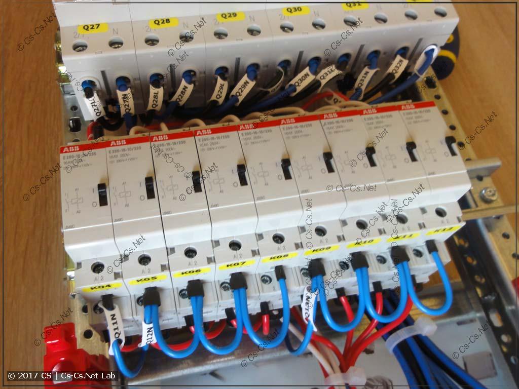 Импульсные реле вместо проходных выключателей
