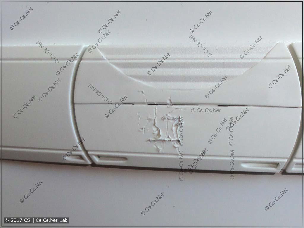 Щит в Питер: транспортная компания Vozovoz повредила ручку щита
