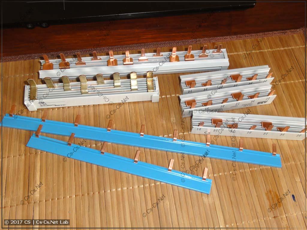 Гребёнки для соединения автоматов разного типа