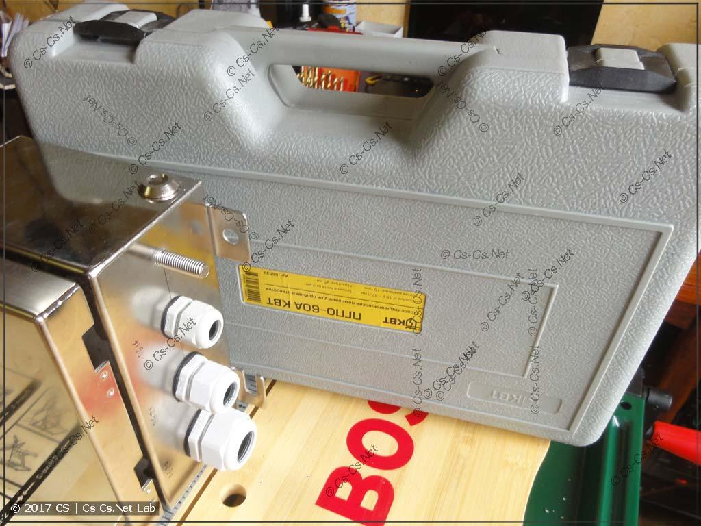 Пресс для пробивки отверстий КВТ ПГПО-60а