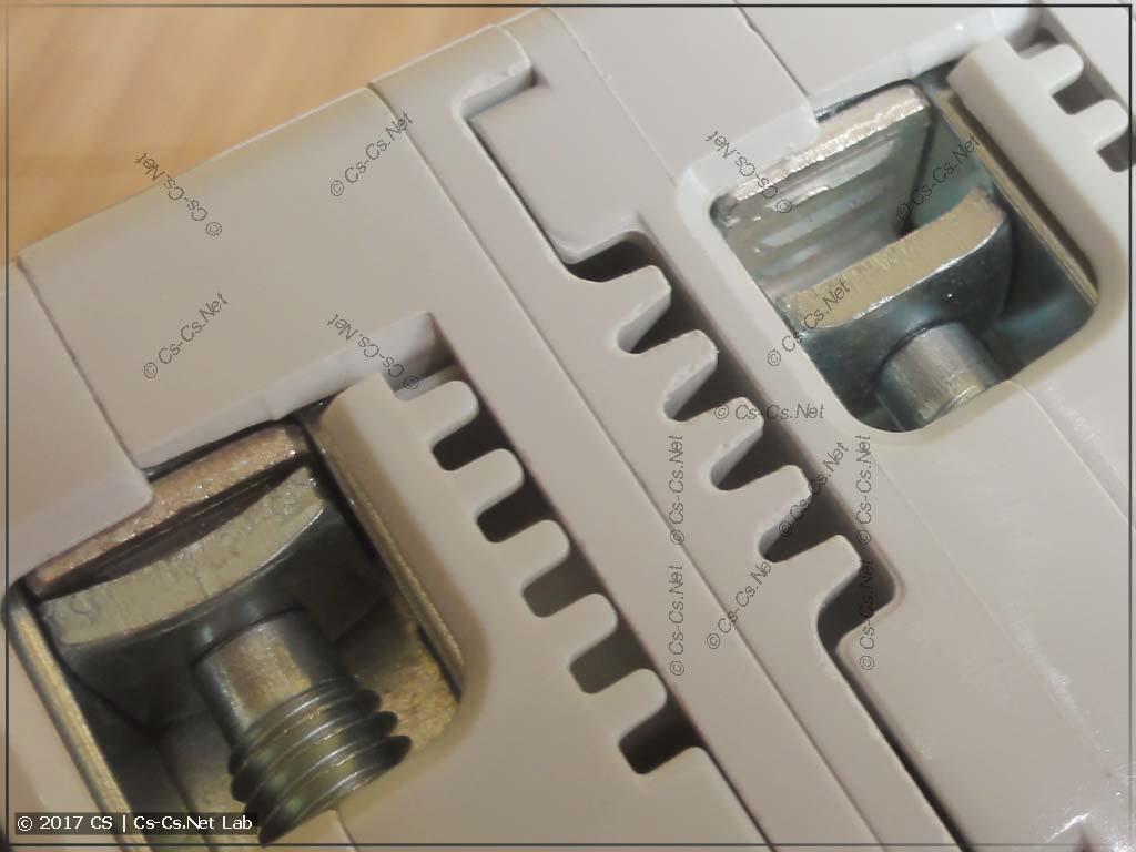 Селективный автомат ABB S750 DR (контакты)