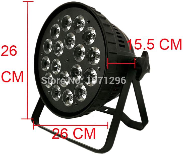 Пример более качественного LED PAR с пассивным охлаждением
