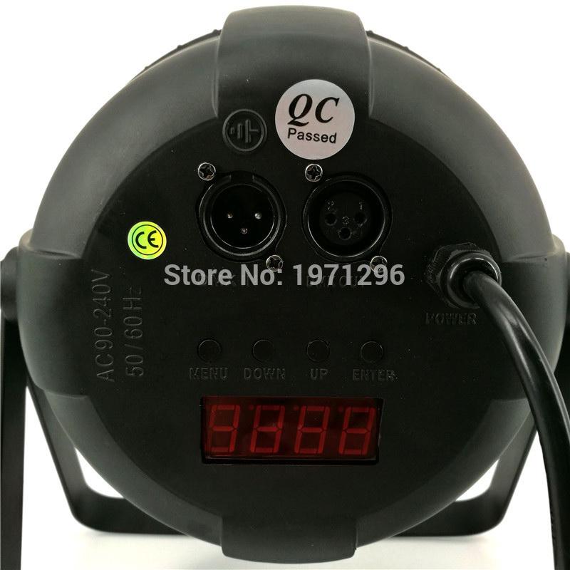 Пример более качественного LED PAR с пассивным охлаждением (вид сзади)