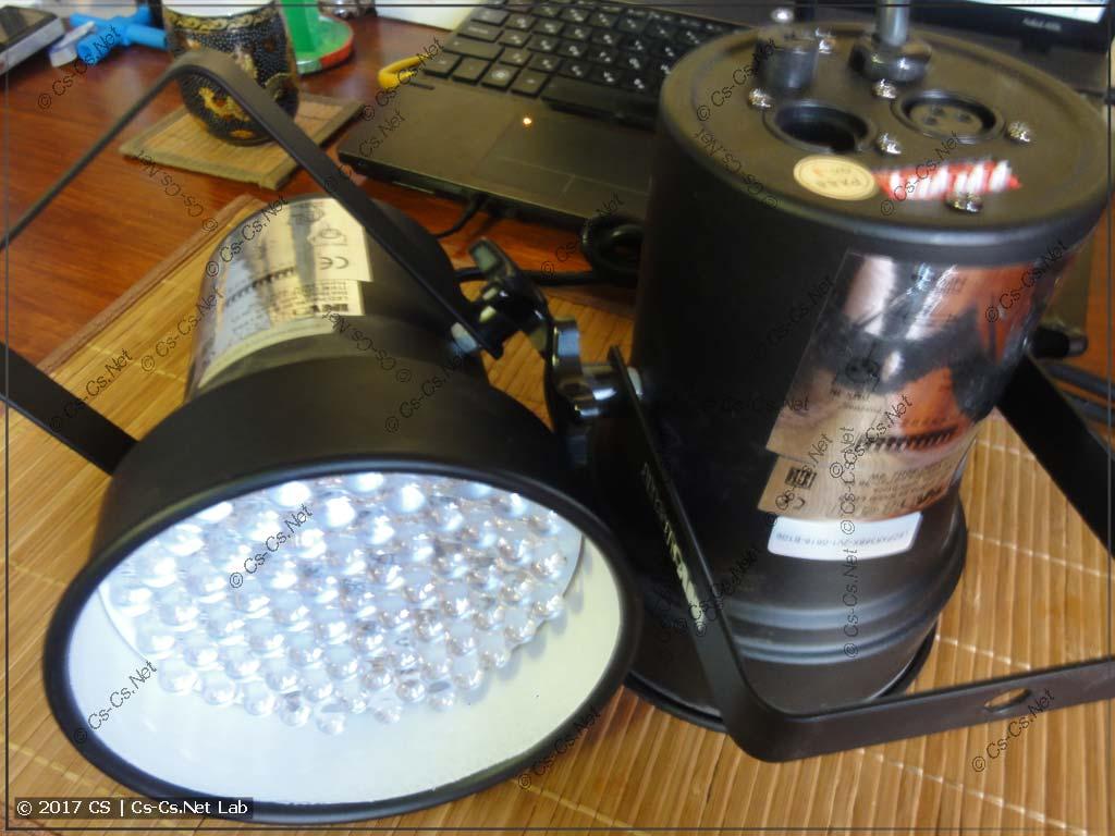 Прожектор LED PAR (очень простой)