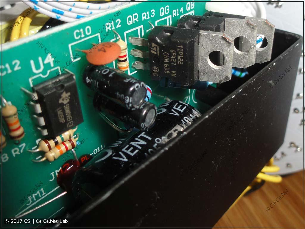 Силовые транзисторы управления светодиодами