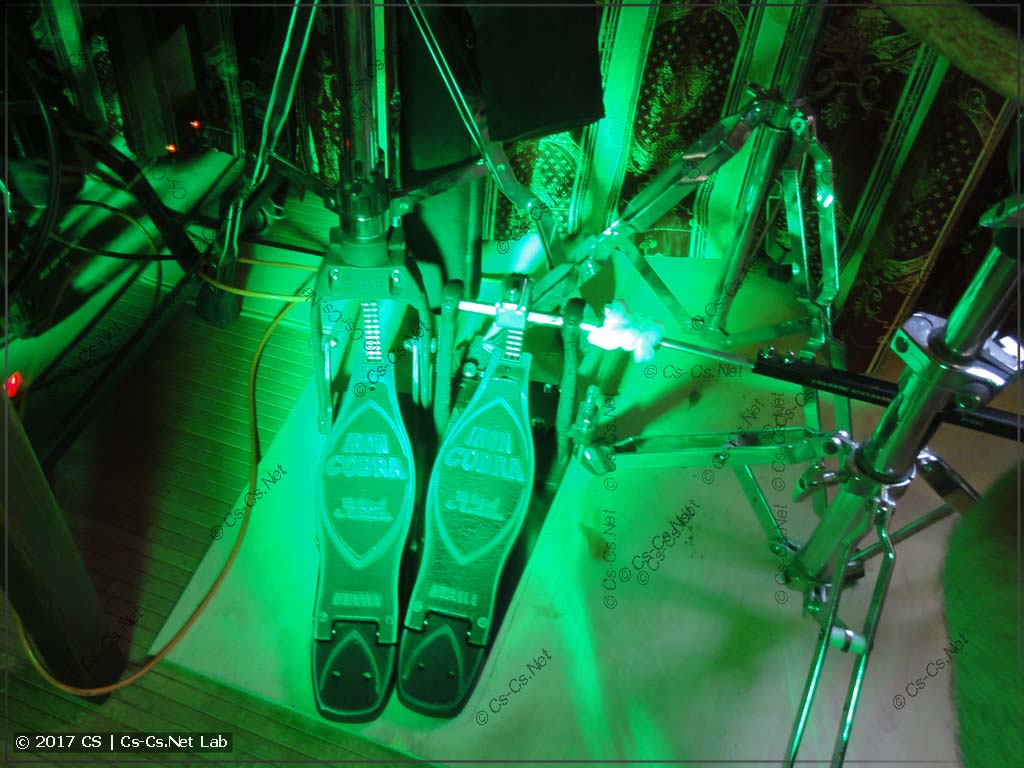 Пятно света от LED PAR-прожектора